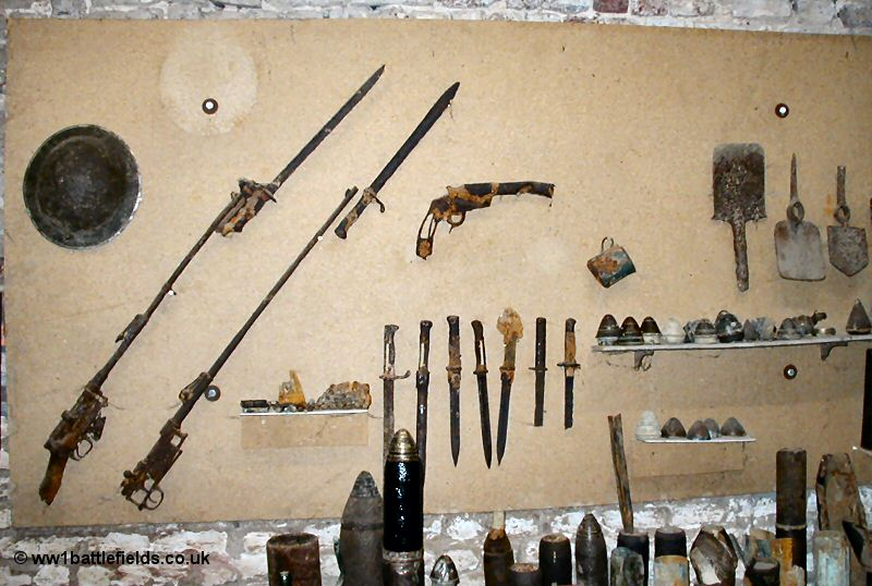 weapons in ww1 trenches
